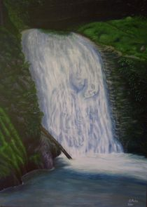 Wasserfall der Liebenden by pjb-art