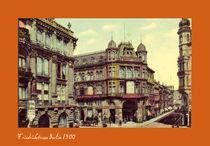 Friedrichstrasse Berlin anno 1900 by BedBreakfastBerlin