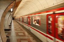 U-Bahn in Prag by Norbert Fenske
