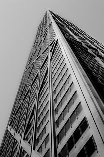 Chicago John Hancock Building by Ian C Whitworth