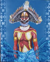 """""""Papua-Krieger"""" by Bernd D. Kugler"""