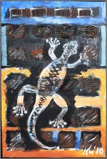 Gecko palmero by Bernd D. Kugler