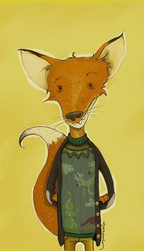 Fox by Yasemin Ezberci
