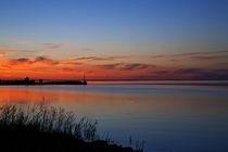 Sunset in Øland, Sweden by Willy Marthinussen