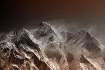 Lhotse 8516m I by Gerhard Albicker