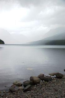 Bowman Lake - Glacier National Parl - Montana - USA by Ken Dvorak