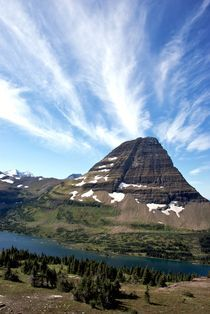 Hidden Lake #3V Glacier National Park Montana USA by Ken Dvorak