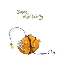 Save Electricity by Yasemin Ezberci
