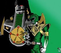 Green Ranger/Dragonzord by Will  Burton