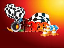 Racing poster von Jasmina Stanojevic