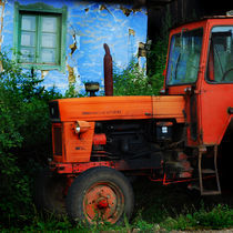 old tractor by Andreea Gorongyi