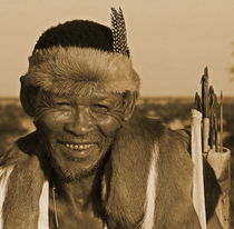 bushman warrior namibia by james smit