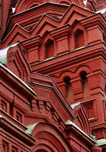 Moscow Historical Museum Detail by gnubier
