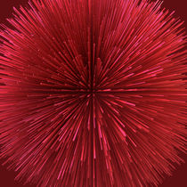Spiny Red Ball von Philip Roberts