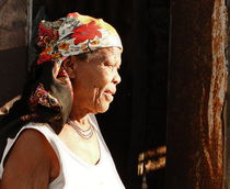 old african woman by james smit