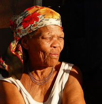 old woman africa by james smit