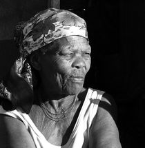 old woman by james smit