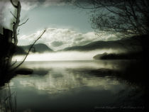 Mist On The Lake  by Elizabeth Gallagher