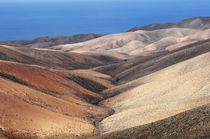 Badlands im Süden von Fuerteventura by Frank Rother