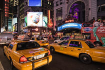 Cabs on Times Square by Stefan Nielsen