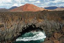 Lanzarote, Vulkanlandschaft Los Hervideros by Frank Rother