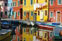 Burano bei Venedig by Frank Rother