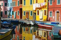 Burano bei Venedig von Frank Rother