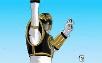 White Ranger Tiger Power von Will  Burton