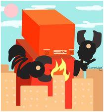 Robo Kaiju by George Holguin