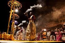 Varanasi, Ghats, ritual, Benares, Uttar Pradesh, India  by Soumen Nath