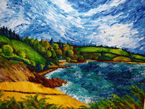 The Helford River by Kristina Trick