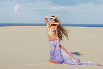 Dancing in the sand dunes by sergey-podelenko