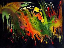 Abstrakt farbenfroh by Ingrid Clement-Grimmer