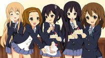 K-ON cake by tonee