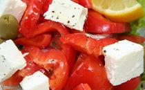 Fresh salad closeup von Vsevolod Zelikov