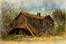 Derelict house by Susan Isakson