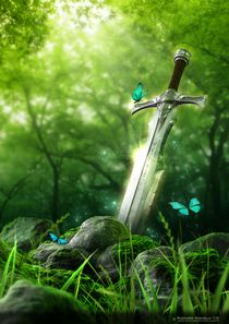 Enchanted Blade by Richard Homola