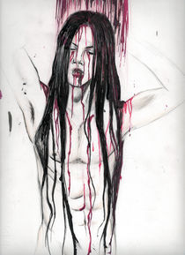 A bloody Shower by Serena Marongiu