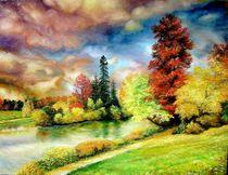Autumn in Park by Apostolescu  Sorin