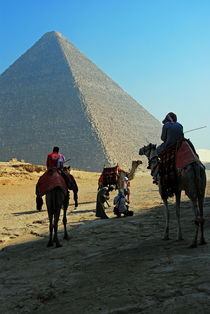 Great Pyramid of Giza von David Love