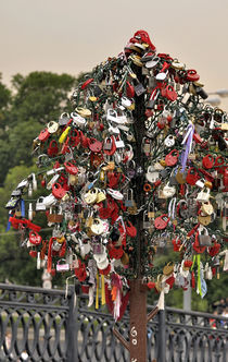 Moscow Love Padlocks II by gnubier