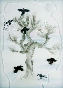 Rabenbaum - Raven tree by Patti Kafurke