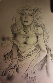 vampire woman by sharon giovanna de matteis