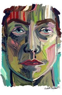 Man's Face von elizabeth haywood