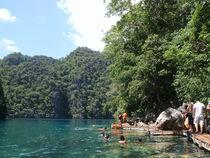 Kayangan Lake by Mary Jane  Pajaron