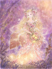Lady of the Forest von Mitzi Sato-Wiuff