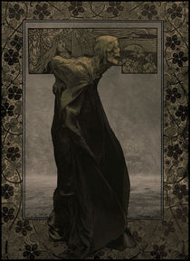 OLD DEATH-Art Nouveau by shume