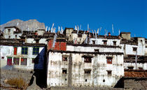 old town in Nepal by littlepeak