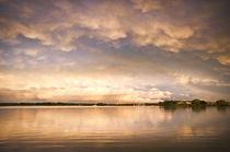 Abendstimmung am See by Martina Weise