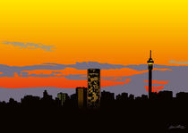 Jozi Skyline by Linda Williams